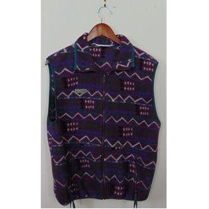 4a74cde30a5d79 Columbia Jackets   Coats - VTG Columbia Women Full Zip Fleece Vest Purple
